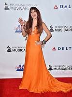 LOS ANGELES, CA. February 08, 2019: Lauren Daigle at the 2019 MusiCares Person of the Year Gala honoring Dolly Parton at the Los Angeles Convention Centre.<br /> Picture: Paul Smith/Featureflash