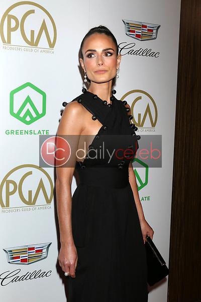 Jordana Brewster<br /> at the 2019 Producer's Guild Awards, Beverly Hilton Hotel, Beverly Hills, CA 01-19-19<br /> David Edwards/DailyCeleb.com 818-249-4998