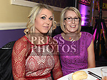Sarah Mulroy and Linda Fagan at St. Kevin's GFC annual Dinner in the Grove House Hotel Dunleer. Photo:Colin Bell/pressphotos.ie