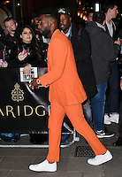 LONDON, ENGLAND - OCT 31: Tinie Tempah at Harper's Bazaar annual Women of the Year Awards, which celebrates female high-fliers, at Claridge's on October 31st, 2016 in London, England.<br /> CAP/JOR<br /> &copy;JOR/Capital Pictures /MediaPunch ***NORTH AND SOUTH AMERICA ONLY***