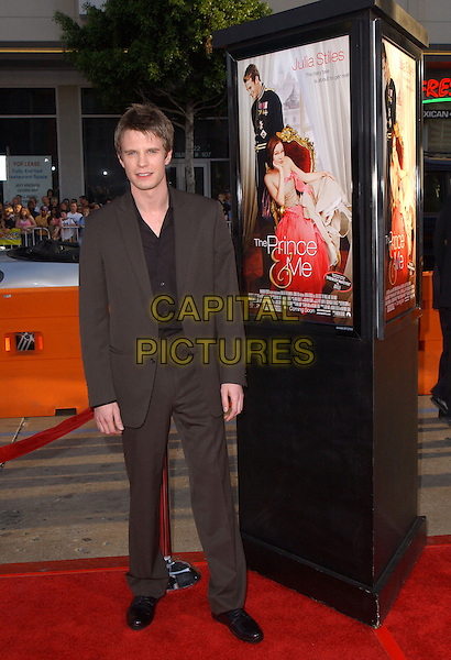LUKE MABLY.World Premiere of The Prince & Me held at The Grauman's Chinese Theatre in Hollywood .28 March 2004.*UK Sales Only*.full length, full-length.www.capitalpictures.com.sales@capitalpictures.com.©Capital Pictures.