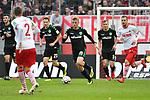 01.12.2018, RheinEnergieStadion, Koeln, GER, 2. FBL, 1.FC Koeln vs. SpVgg Greuther Fürth,<br />  <br /> DFL regulations prohibit any use of photographs as image sequences and/or quasi-video<br /> <br /> im Bild / picture shows: <br /> Sebastian Ernst (Fuerth #15), Paul Jaeckel (Fuerth #23), gegen Benno Schmitz (FC Koeln #2), <br /> <br /> Foto © nordphoto / Meuter