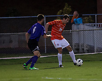 The number 24 ranked Furman Paladins took on the number 20 ranked Clemson Tigers in an inter-conference game at Clemson's Riggs Field.  Furman defeated Clemson 2-1.  Austen Burnikel (20), Trevor Haberkorn (6)