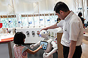 Robot Pepper Starts to work in NESCAFE Coffee Shop