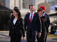 Scot Brisson<br />  and members of the 29th Canadian ministry on the grounds of Rideau Hall in Ottawa, Ontario, on Wednesday, November 4, 2015.<br /> <br /> PHOTO : Pierre Roussel<br /> - Agence Quebec Presse<br /> <br /> <br /> <br /> <br /> PHOTO :  Agence Quebec Presse
