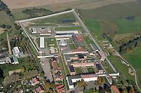 JVA Buetzow: DEUTSCHLAND, MECKLENBURG-VORPOMMERN, buetzow,10.10.2010: Die Justizvollzugsanstalt (JVA) Buetzow befindet sich auf einem etwa 270000 Quadratmeter grossen Gelaende im Ortsteil Dreibergen im Nordwesten der mecklenburgischen Kleinstadt Buetzow. Sie ist die groesste der sechs Justizvollzugsanstalten in Mecklenburg-Vorpommern - Aufwind-Luftbilder- Stichworte: Deutschland, mecklenburg, Vorpommern, Buetzow, gesetz, Recht, Staatsgewalt, JVA, Justizvollzugsanstalt, Gefaengnis, Knast, Justiz, eingesperrt, Strafe, Gefaengnisstrafe, Gelaende, Gebaeude, Komplex, Gebaeudekomplex, Luftbild, Draufsicht, Luftaufnahme, Luftansicht, Luftblick, Flugaufnahme, Flugbild, Vogelperspektive .c o p y r i g h t : A U F W I N D - L U F T B I L D E R . de.G e r t r u d - B a e u m e r - S t i e g 1 0 2, 2 1 0 3 5 H a m b u r g , G e r m a n y P h o n e + 4 9 (0) 1 7 1 - 6 8 6 6 0 6 9 E m a i l H w e i 1 @ a o l . c o m w w w . a u f w i n d - l u f t b i l d e r . d e.K o n t o : P o s t b a n k H a m b u r g .B l z : 2 0 0 1 0 0 2 0  K o n t o : 5 8 3 6 5 7 2 0 9.C o p y r i g h t n u r f u e r j o u r n a l i s t i s c h Z w e c k e, keine P e r s o e n l i c h ke i t s r e c h t e v o r h a n d e n, V e r o e f f e n t l i c h u n g n u r m i t H o n o r a r n a c h M F M, N a m e n s n e n n u n g u n d B e l e g e x e m p l a r !.