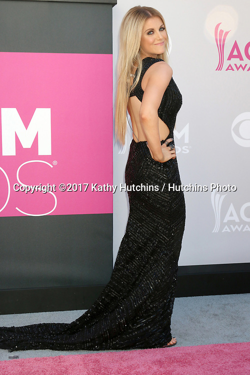LAS VEGAS - APR 2:  Lindsay Ell at the Academy of Country Music Awards 2017 at T-Mobile Arena on April 2, 2017 in Las Vegas, NV