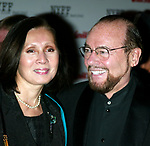 James Lipton and wife attending the Opening Night of The New York Film Festival Premiere Screening of of MYSTIC RIVER at the Avery Fisher Hall, Lincoln Center, New York City.<br />