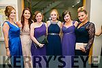 Enjoying the I.T Macra NAGS Ball at Ballyroe Hotel on Thursday were Niamh O'Grady, Aibhlinn Lyons, Rosie Somers, Amanda O'Sullivan, Laura Mahan and Jade Collaby