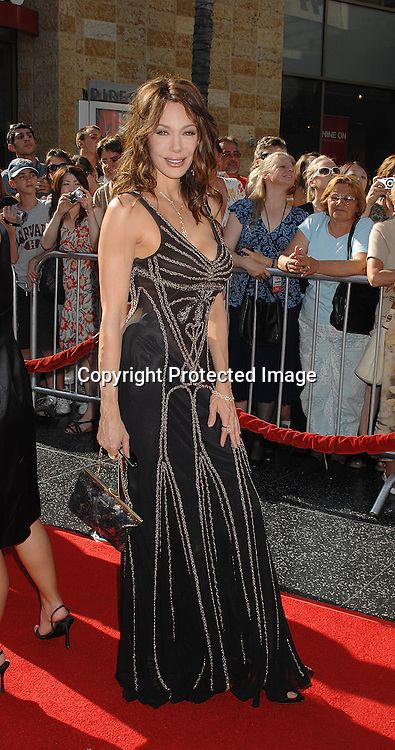 Hunter Tylo..arriving at The 34th Annual Daytime Emmy Awards on ..June 15, 2007 at The Kodak Theatre in Hollywood, California. ..Robin Platzer, Twin Images......212-935-0770