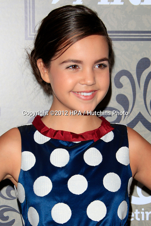 LOS ANGELES - OCT 5:  Bailee Madison arrives at the Variety's 4th Annual Power Of Women Event at Beverly Wilshire Hotel on October 5, 2012 in Beverly Hills, CA