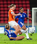 Karin Stevens, Sandrine Soubeyrand, QF, Holland-France, Women's EURO 2009 in Finland, 09032009, Tampere, Ratina Stadium.