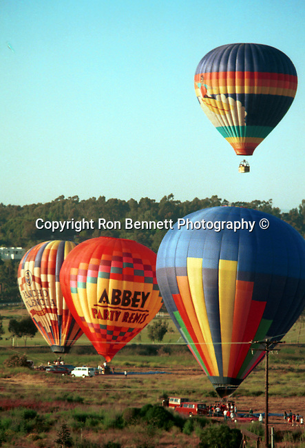 "Hot air balloon with ""Another beautiful day in San Diego"" California,  California Fine art Photography and Stock Photography by Ronald T. Bennett Photography ©, FINE ART and STOCK PHOTOGRAPHY FOR SALE, CLICK ON  ""ADD TO CART"" FOR PRICING, Fine Art Photography by Ron Bennett, Fine Art, Fine Art photography, Art Photography, Copyright RonBennettPhotography.com ©"