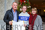 Laurie, Edele and Mary Martin from Ballylongford attending the Kerry School Of Music Show in the Rose Hotel on Sunday evening
