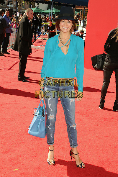 1 February 2014 - Westwood, California - Brooke Burke Charvet. &quot;The Lego Movie&quot; Los Angeles Premiere held at the Regency Village Theater.  <br /> CAP/ADM/BP<br /> &copy;Byron Purvis/AdMedia/Capital Pictures