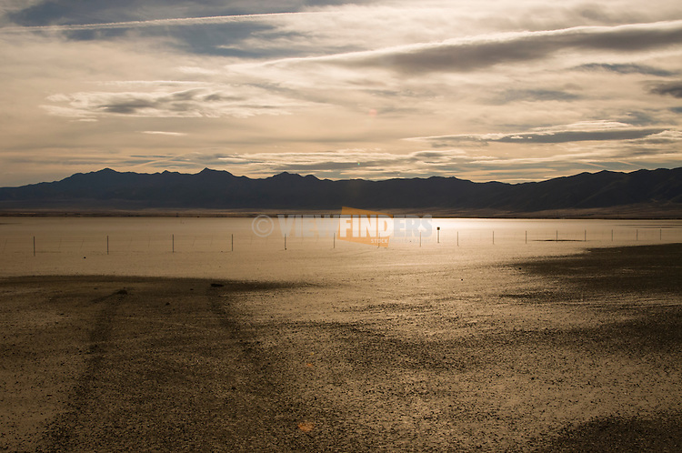 Central Nevada Valley landscape near Fallon, Nevada.