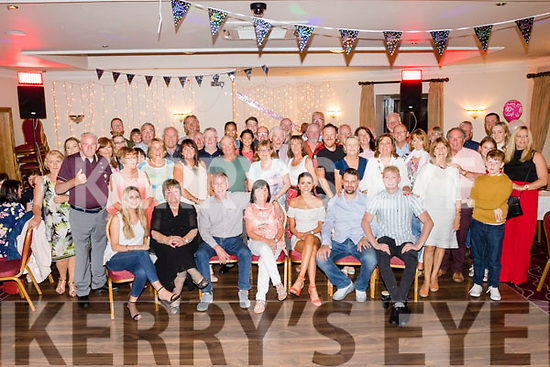 Noreen O'Leary, Tralee, seated centre, celebrated her 60th birthday last Friday night in the Kerin's O'Rahilly's clubhouse, Tralee surrounded by many friends and family.