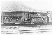 RGS stock car #7251 in Durango.<br /> RGS  Durango, CO  Taken by Maxwell, John W. - 1950