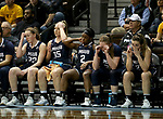 SIOUX FALLS, SD - MARCH 19: The Montana State University Billings reacts near the end of their game against Ashland University in their quarterfinal game at the 2018 Elite Eight Women's NCAA DII Basketball Championship at the Sanford Pentagon in Sioux Falls, SD. Ashland won 91-73. (Photo by Dave Eggen/Inertia)