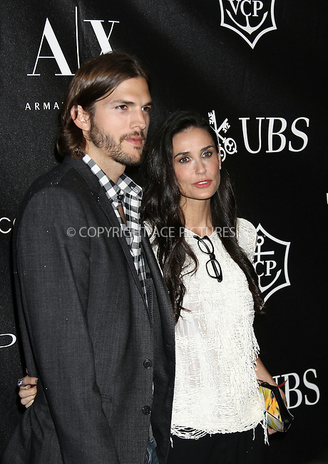 WWW.ACEPIXS.COM . . . . .  ....June 9 2011, New York City....Actors Ashton Kutcher and Demi Moore arriving at The Urban Zen Stephan Weiss Apple Awards at Urban Zen on June 9, 2011 in New York City. ....Please byline: CURTIS MEANS - ACE PICTURES.... *** ***..Ace Pictures, Inc:  ..Philip Vaughan (212) 243-8787 or (646) 679 0430..e-mail: info@acepixs.com..web: http://www.acepixs.com