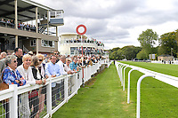 A general view of the racecourse during Racing at Salisbury Racecourse on 5th September 2019