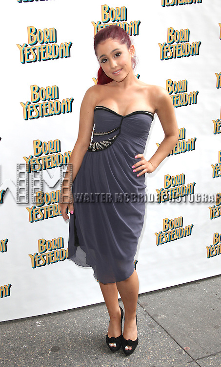 Ariana Grande<br /> attending the Broadway Opening Night Performance for 'Born Yesterday' in New York City.