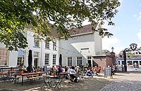 Nederland Delft - Augustus 2018. Horeca bij het Prinsenkwartier.   Foto Berlinda van Dam / Hollandse Hoogte