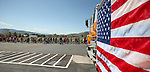 Several hundred people participate in a Veterans Suicide Awareness walk in Carson City, Nev., on Saturday, May 2, 2015. The event, hosted by the Western Nevada College Veterans Resource Center, raises awareness of the more than 8,000 veteran suicides each year in the U.S. <br /> Photo by Cathleen Allison