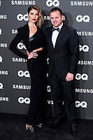 Pedja Mijatovic and wife Aneta Milicevic attends the 2018 GQ Men of the Year awards at the Palace Hotel in Madrid, Spain. November 22, 2018. (ALTERPHOTOS/Borja B.Hojas) /NortePhoto.com