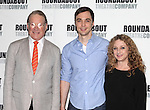 Charles Kimbrough, Jim Parsons & Carol Kane.attending the Meet & Greet for the Roundabout Theatre Company's Broadway Production of 'Harvey' at their Rehearsal Studios in New York City. 4/20/2012 © Walter McBride/WM Photography .