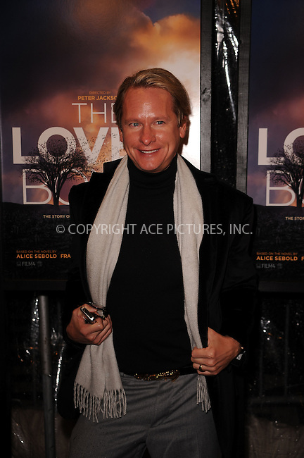 WWW.ACEPIXS.COM . . . . . ....December 2 2009, New York City....Carson Kressley arriving at the 'The Lovely Bones' premiere at the Paris Theatre on December 2, 2009 in New York City.....Please byline: KRISTIN CALLAHAN - ACEPIXS.COM.. . . . . . ..Ace Pictures, Inc:  ..(212) 243-8787 or (646) 679 0430..e-mail: picturedesk@acepixs.com..web: http://www.acepixs.com