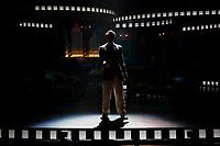 SÃO PAULO, SP 19.03.2019: SUNSET BOULEVARD-SP - Passagem de cena e coletiva de imprensa do musical Sunset Boulevard, com Júlio Assad, Marisa Orth e Daniel Boaventura, no Teatro Santander, zona sul da capital paulista. O espetáculo estreia dia 22 de março. (Foto: Ale Frata/Codigo19)