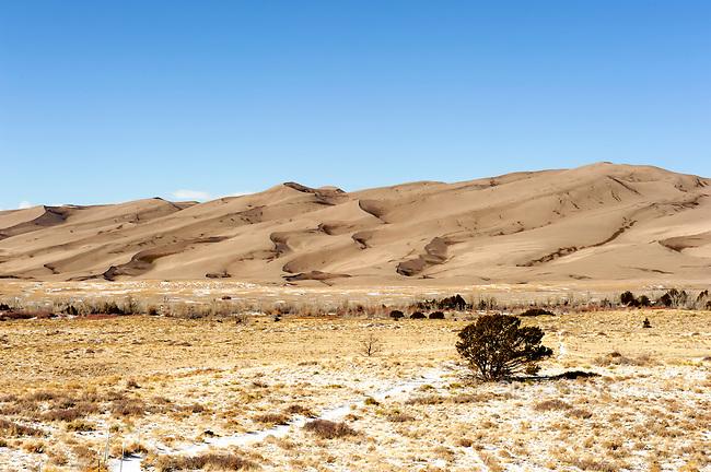 Colorado Great Sand Dunes near Alamosa