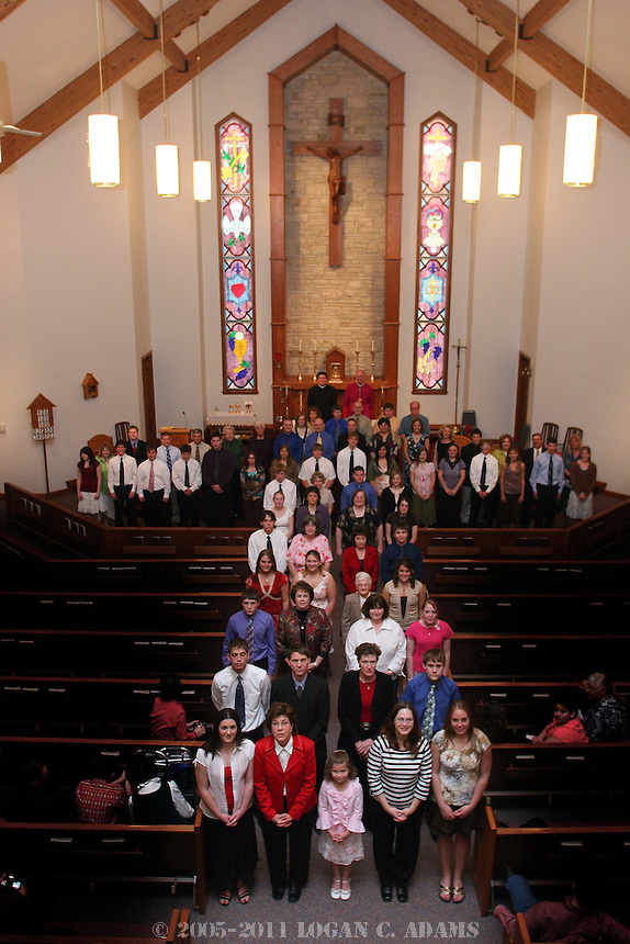 St. Rose Confirmation Celebration 2006