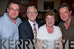 Enjoying the night out at the 50th anniversary celebrations for the 1958 John Mitchell's Minor Team were l/r Brian, Sean, Mary and Francis Rusk from Marian Park   Copyright Kerry's Eye 2008
