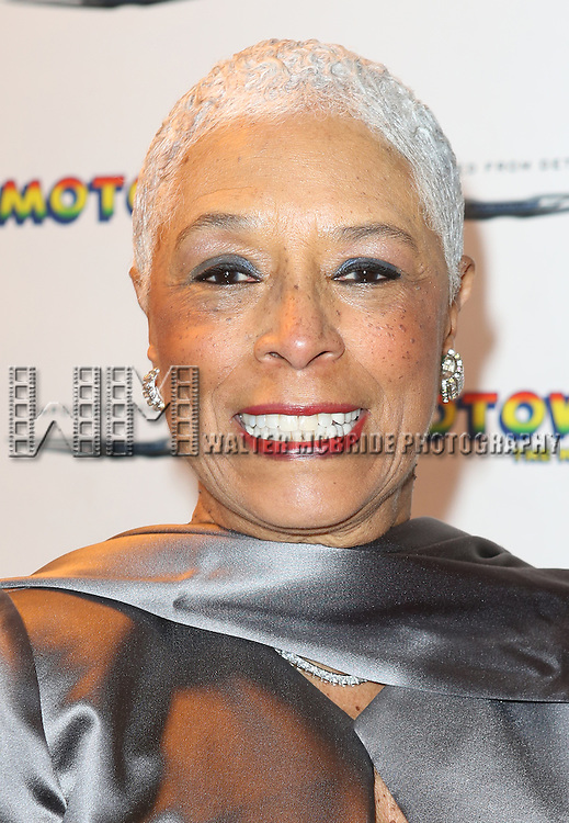 Edna Anderson-Owens attending the Motown Family Night on Broadway at 'Motown: The Musical' at the Lunt Fontanne Theatre in New York City on 4/5/2013
