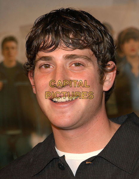 BRYAN GREENBERG.The World Premiere of The Perfect Score held at The Cinerama Dome in Hollywood, California .27 January 2004                                                   .*UK Sales Only*.portrait, headshot.www.capitalpictures.com.sales@capitalpictures.com.©Capital Pictures.