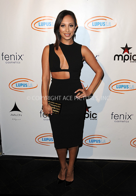 WWW.ACEPIXS.COM<br /> <br /> September 16 2015, LA<br /> <br />  Dancer Cheryl Burke attends the Get Lucky For Lupus LA Celebrity Poker Tournament and Party at Avalon on September 16, 2015 in Hollywood, California. <br /> <br /> <br /> By Line: Peter West/ACE Pictures<br /> <br /> <br /> ACE Pictures, Inc.<br /> tel: 646 769 0430<br /> Email: info@acepixs.com<br /> www.acepixs.com
