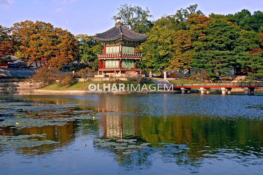 Palacio Imperial. Gyeongbok Palace. Seul. Coreia. 2009. Foto de Thaïs Falcão.