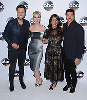 08 January 2018 - Pasadena, California - Luke Bryan, Katy Perry, Channing Dungey, Lionel Richie. 2018 Disney ABC Winter Press Tour held at The Langham Huntington in Pasadena. <br /> CAP/ADM/BT<br /> &copy;BT/ADM/Capital Pictures