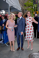 www.acepixs.com<br /> <br /> May 15 2017, New York City<br /> <br /> (L-R) Anchors Megyn Kelly, Matt Lauer and Savannah Guthrie arriving at the 2017 NBCUniversal Upfront at Radio City Music Hall on May 15, 2017 in New York City.<br /> <br /> By Line: Curtis Means/ACE Pictures<br /> <br /> <br /> ACE Pictures Inc<br /> Tel: 6467670430<br /> Email: info@acepixs.com<br /> www.acepixs.com