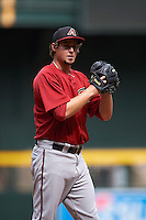 Arizona Diamondbacks pitcher Josh Taylor (50) during an instructional league game against the San Francisco Giants on October 16, 2015 at the Chase Field in Phoenix, Arizona.  (Mike Janes/Four Seam Images)