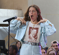 JUL 12 Maggie Rogers performs on NBC's Today Show