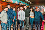 18th Birthday : Ian Roche, Listowel , centre celebrating his 18th birthday with friends at The Mermaids nightclub, Listowel on Saturday night last.