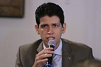 SÃO PAULO, SP, 05.02.2019: POLÍTICA-SP: Marcelo Sampaio, Secretário Executivo de Desenvolvimento do Turismo, participa de anuncio de pacote de medidas para o setor de transporte aéreo, no Palácio dos Bandeirantes, nesta terça-feira, 5. ( Foto: Charles Sholl/Brazil Photo Press)