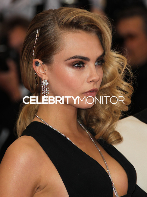 """NEW YORK CITY, NY, USA - MAY 05: Cara Delevigne at the """"Charles James: Beyond Fashion"""" Costume Institute Gala held at the Metropolitan Museum of Art on May 5, 2014 in New York City, New York, United States. (Photo by Xavier Collin/Celebrity Monitor)"""
