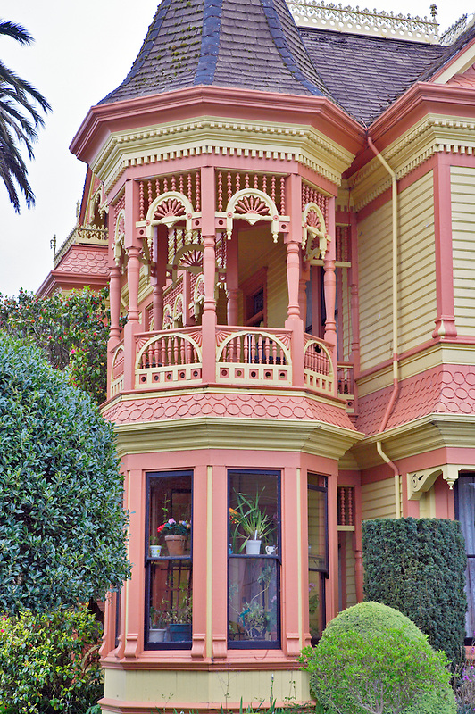 The Gingerbread Mansion in Ferndale. California