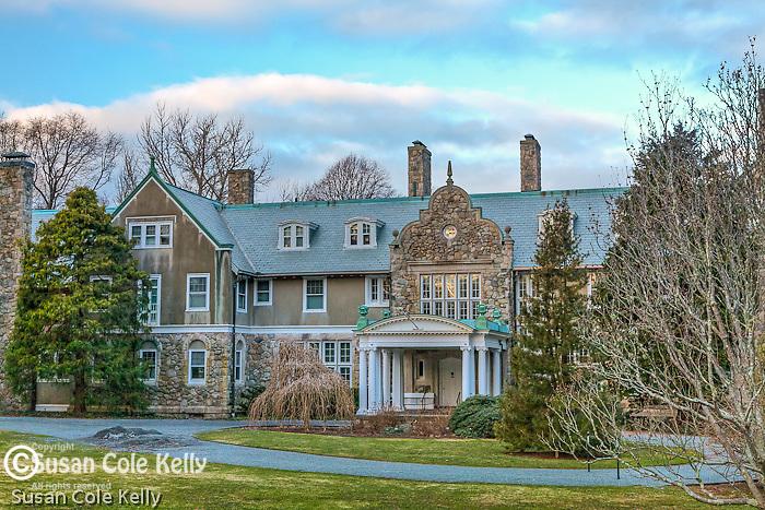 Blithewold Mansion, Bristol, RI, USA