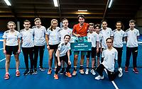 Alphen aan den Rijn, The Netherlands, 25 Januari 2019, ABNAMRO World Tennis Tournament, Supermatch,Final,  Ryan Nijboer  (NED)<br /> <br /> Photo: www.tennisimages.com/Henk Koster