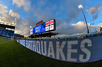 San Jose, CA - Saturday March 03, 2018: Avaya Stadium during a 2018 Major League Soccer (MLS) match between the San Jose Earthquakes and Minnesota United FC at Avaya Stadium.